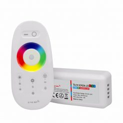 Professione Led - CONTROLLER FULL TOUCH RGB serie WiFi - 2.4Ghz 10A}