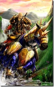 WoW Paladin Riding Charger