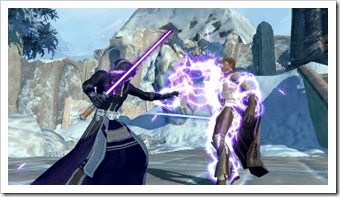 SWTOR Jedi Force Lightning