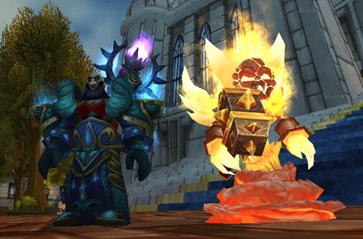 Lesserheal and Ragnaros