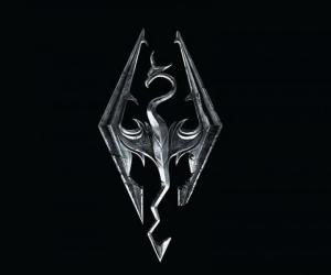 The Elder Scrolls V: Skyrim Dragon Logo