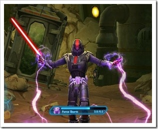 SWTOR PvP Titles - Sith Inquisitor Force Storm