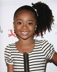 Braided Ponytail Hairstyles For Black Hair Little Girl African