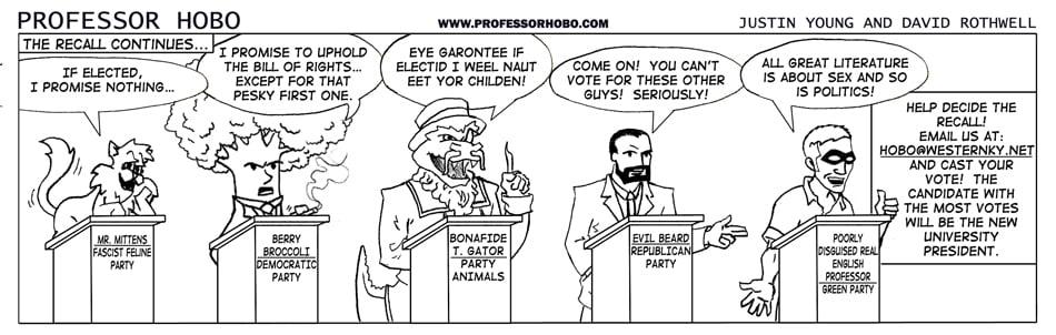 The Candidates Speak