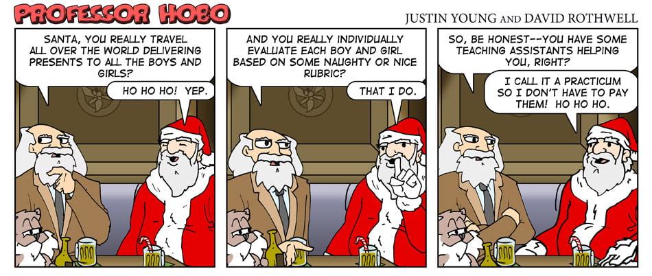 How Santa Does It