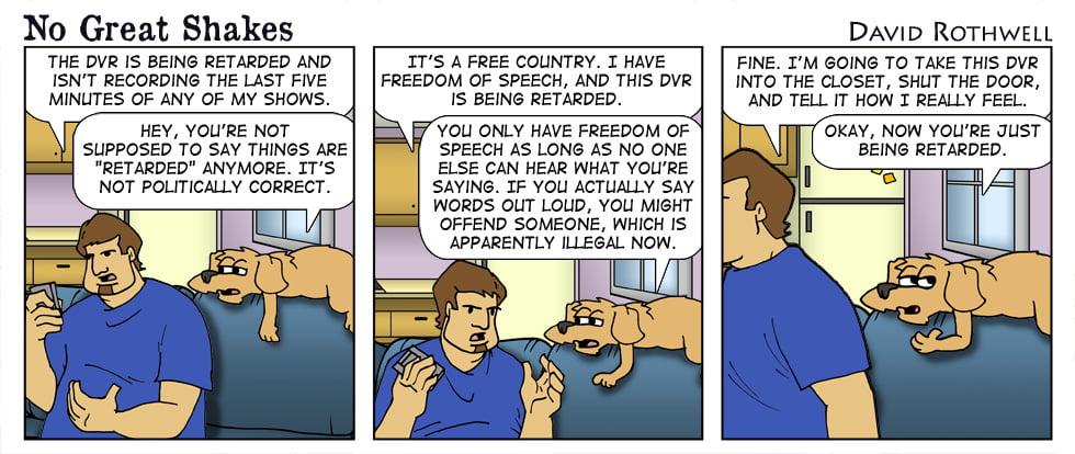 Politically Correct DVR