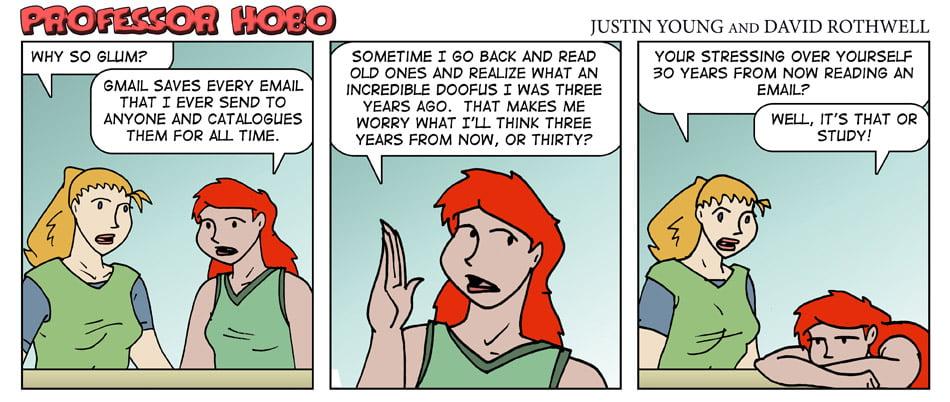 Future Tense Email