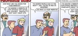Top ten most popular Professor Hobo comics of 2013