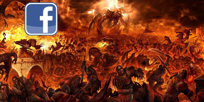 The eight people you meet in Facebook Hell