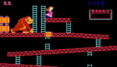 We have Donkey Kong to thank for bringing us Mario's first adventure.