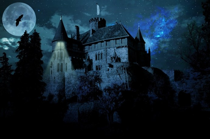 Ghost Castle Haunted Castle Darkness Castle