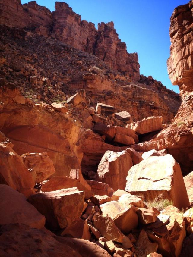 8 October 2013 Soap Creek Canyon to Colorado River7