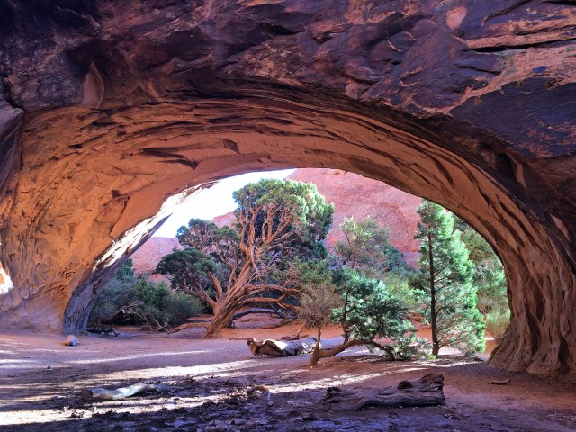 Navajo Arch. Such a peaceful spot - maybe my favorite on the loop. I could sit here all day