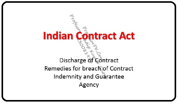 Contract Act Videos , Audios and PPT