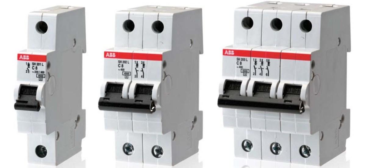 Interruptores automáticos. Funcionamiento y simbología