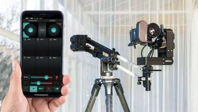 صورة تجربة جهاز جيب JibONE لحركات سينمائية رائعة عبر التحكم بالهاتف الذكي
