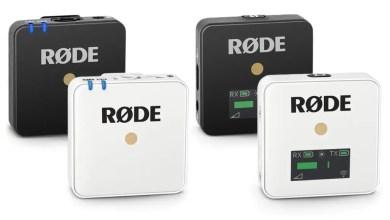 Photo of رود تصدر ميكرفونا بلون أبيض من RØDE Wireless Go مع أدوات للمقابلات والأفلام
