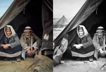 Photo of مصور فلسطيني يعيد الحياة إلى صور قديمة للنكبة الفلسطينية عبر تلوينها