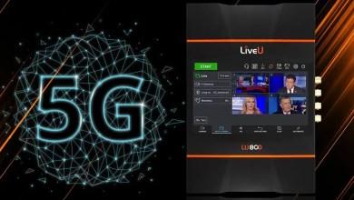 صورة إليكم آخر تكنولوجيا البث المباشر 5G بعدة كاميرات عبر هذا الجهاز الصغير LiveU LU800