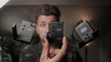 صورة أرخص ميكرفون لاسلكي متوفر للكاميرات والهاتف المحمول COMICA BoomX-U بتردد UHF
