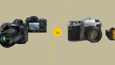 Photo of ماهو الفرق بين كاميرات الفيلم القديمة و كاميرات الديجيتال الحالية في التصوير الفوتوغرافي؟