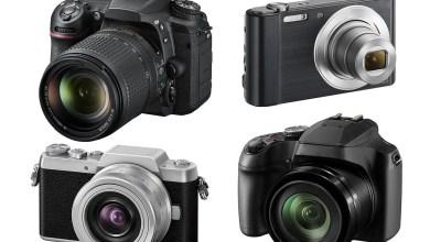 صورة انواع الكاميرات وكيفية اختيار كاميرا تصوير فوتوغرافي مناسبة