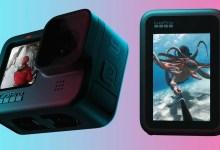 صورة إصدار كاميرا اكشن GoPro HERO 9 Black  بدقة فيديو 5K وبطارية أكبر وشاشة أمامية
