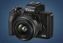 صورة الإصدار الثاني من الكاميرا Canon M50 Mark II مع بث مباشر على اليوتيوب عبر الاتصال بالهاتف