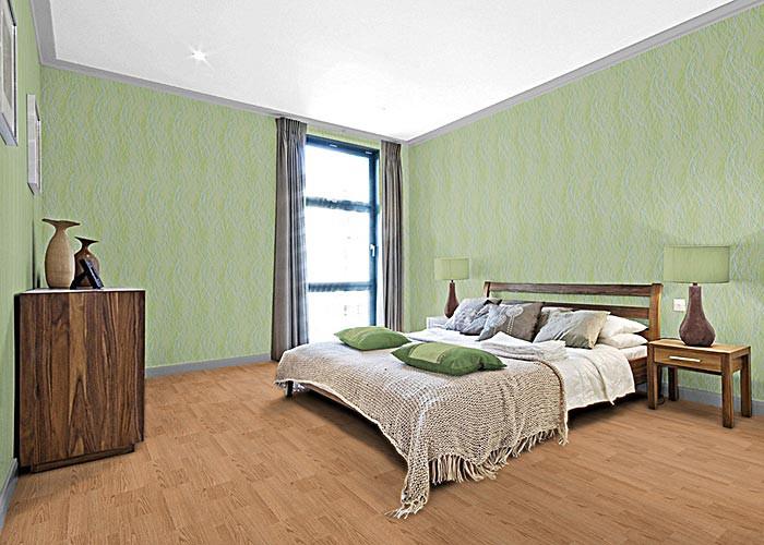 Behang Slaapkamer Groen  cartoonboxinfo