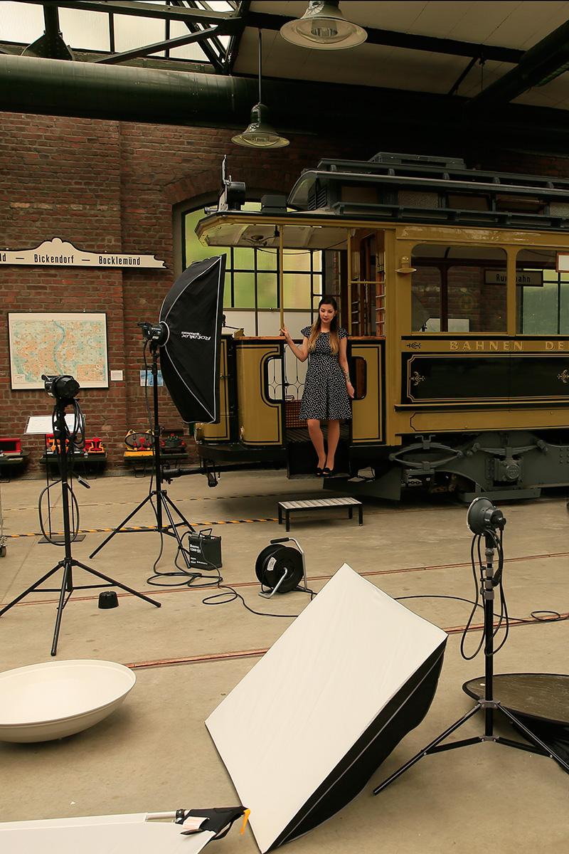 Fotoworkshop im historischen Straenbahndepot  ProfiFoto