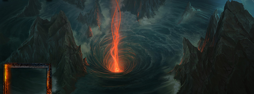Fall Patterns Wallpaper World Of Warcraft Maelstrom Facebook Cover