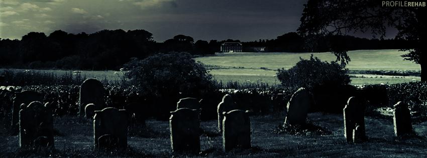 Fall Graveyard Cemetery Wallpaper Dark Cemetery Facebook Cover Spooky Halloween Images