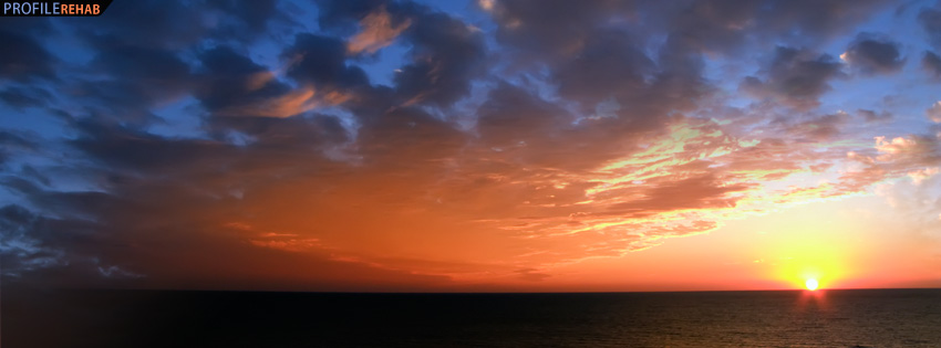 Fall In Love Wallpaper With Quotes South Florida Sunset Facebook Cover