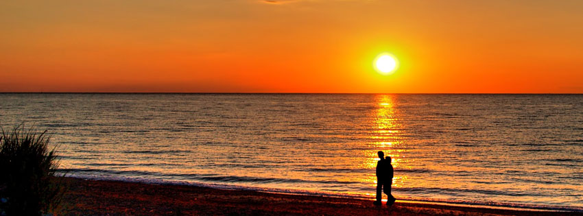 Fall In Love Couples Wallpapers Lovers At Sunset Facebook Cover Romantic Images Of Couples