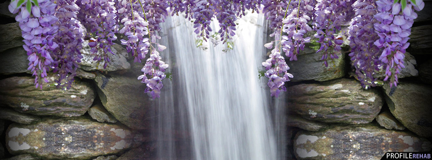 Funny Fathers Day Quotes Wallpapers Purple Wisteria Waterfall Facebook Cover