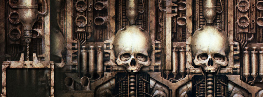 Exotic Cars Fall Wallpaper Cool Giger Skull Facebook Cover Cool Art Halloween