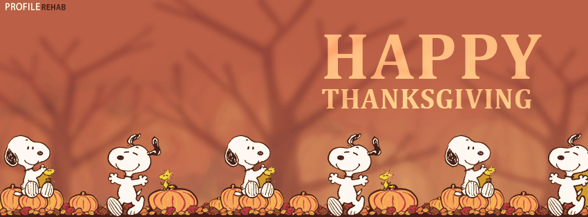 Snoopy Fall Wallpaper Free Thanksgiving Facebook Covers For Timeline Cute