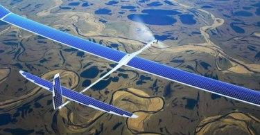 google solar drones