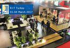 Συμμετοχή διεθνών εκθετών στην R+T Turkey 01-04/03 2017