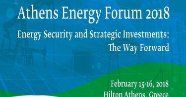 Athens Energy Forum 2018