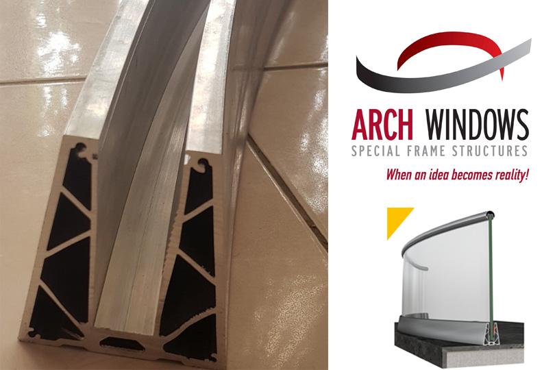 Arch Windows Alumil Smartia M8208