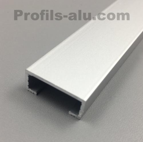 listel 20mm alu anodise en barre de 2 5 ou 1 25ml