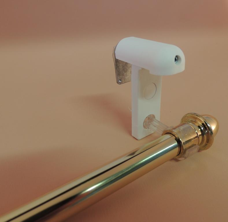 support tringle rideau diametre 10 mm