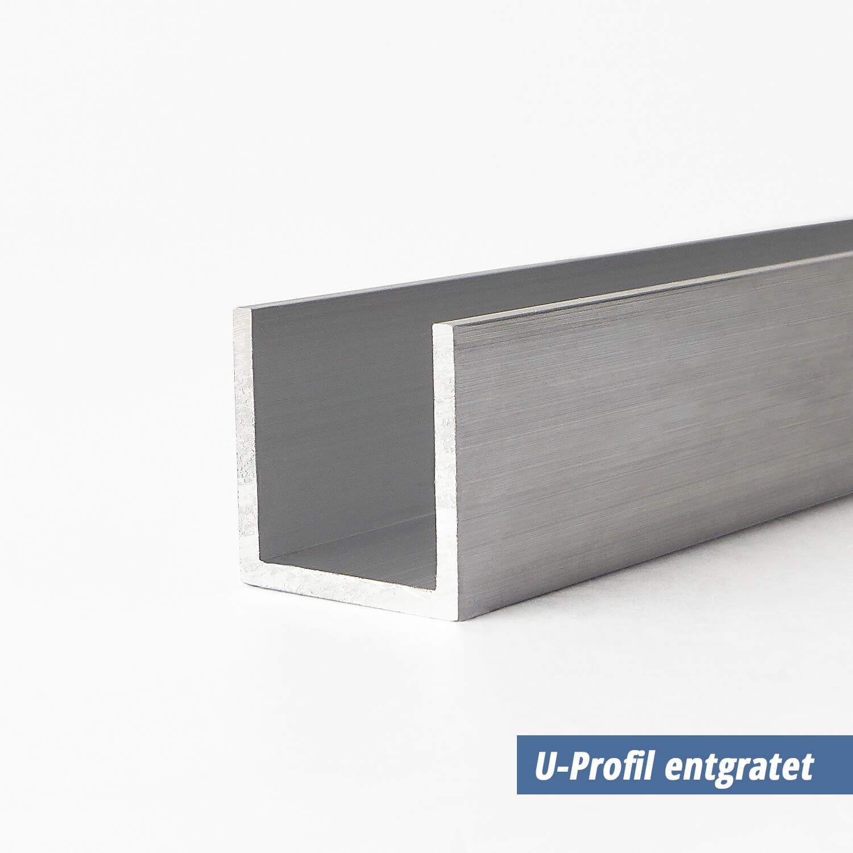 U Profil Aus Aluminium 15x20x15x2 Mm