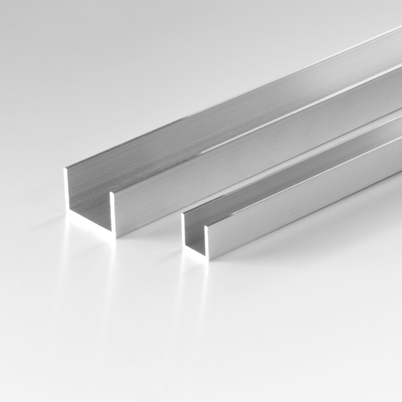 U Profil Aus Aluminium 15x15x15x1 5 Mm