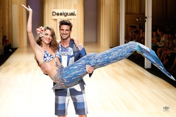 Momentky z módní přehlídky Desigual na 080 Barcelona