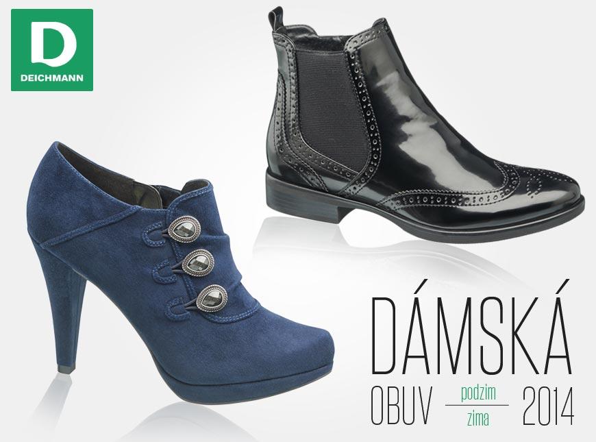 Obuv Deichmann z kolekce podzim/zima 2014/2015 – pánské i dámské modely uspokojí příznivce elegantního, sportovního i business stylu.