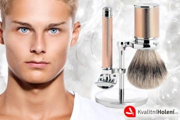 Mokré holení je opět na scéně. Umí oholit kvalitněji než moderní alternativy a hodí se také jako originální dárek.