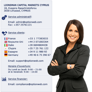 COntact optionweb