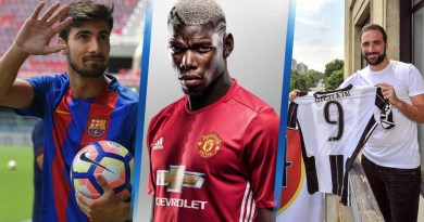 From Pogba to Lukaku, Lacazette and Silva: Top 10 Most Expensive Premier League Transfers